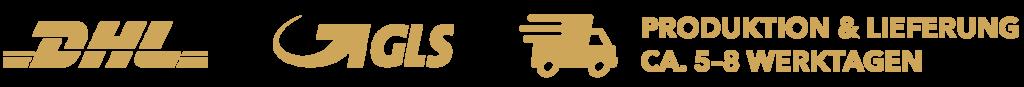 Lieferung & Produktion in 5-8 Werktagen